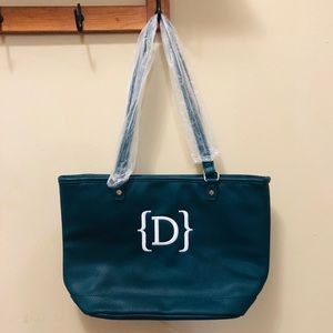 NWOT City Chic Tote Peacock Pebble by Thirty-One